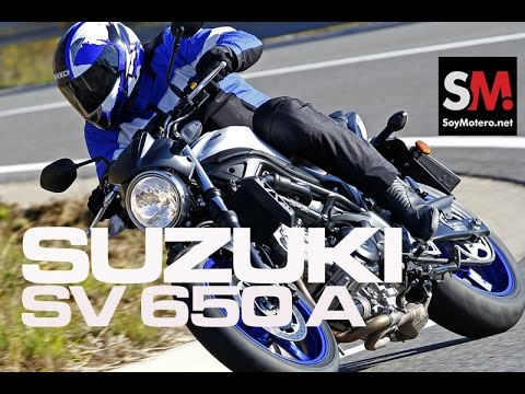 Prueba Naked: Suzuki SV 650 A 2016