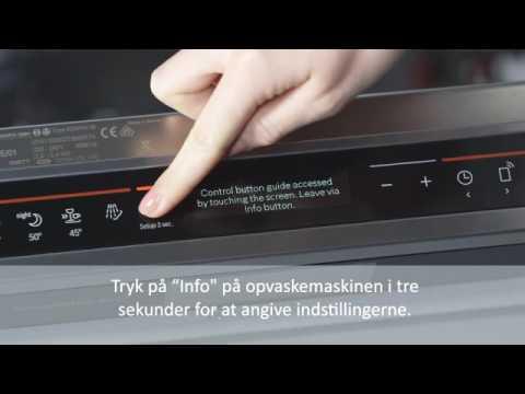 Home Connect tilslutning af Bosch opvaskemaskine