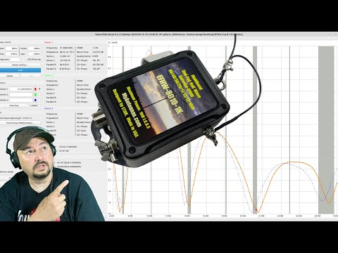 Tuning my EFHW Antenna - Ham Radio - TheSmokinApe