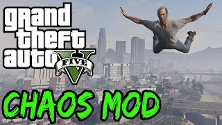 GTA V CHAOS MOD Speedrun - A New Chaotic Effect Every 15 Seconds!