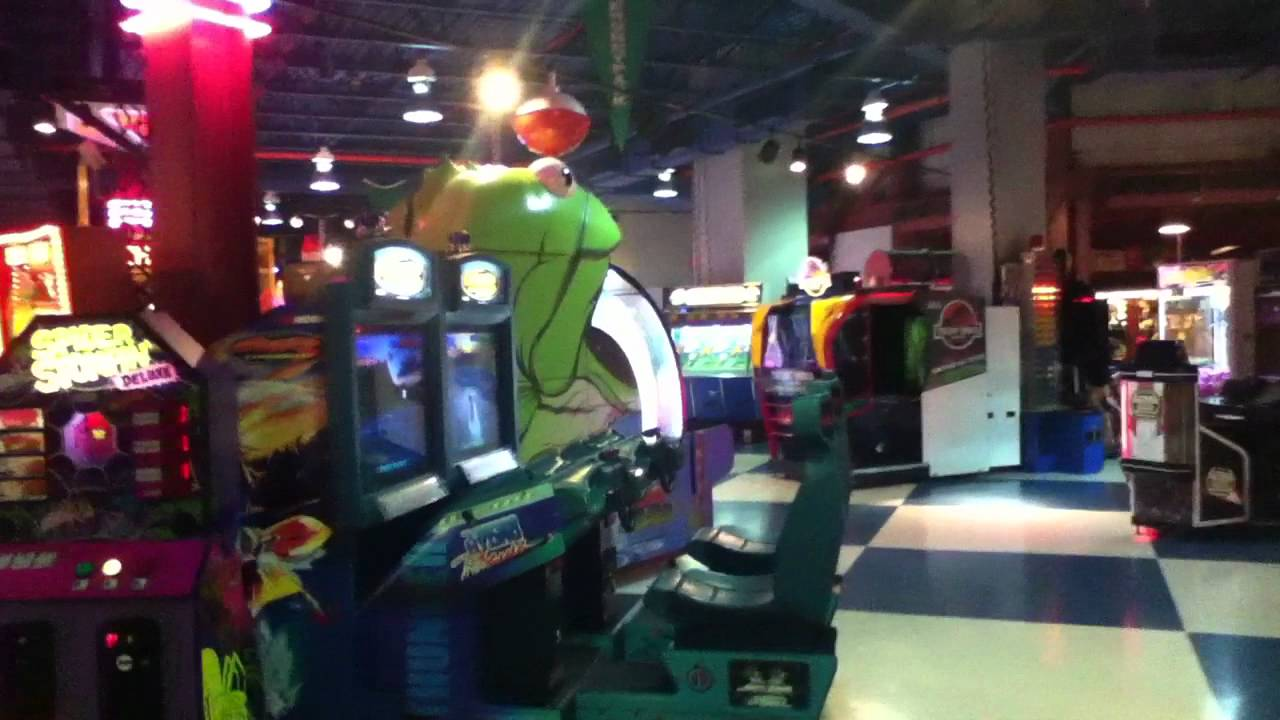 Hershey Park S Minetown Arcade 2012 1st Impressions Youtube