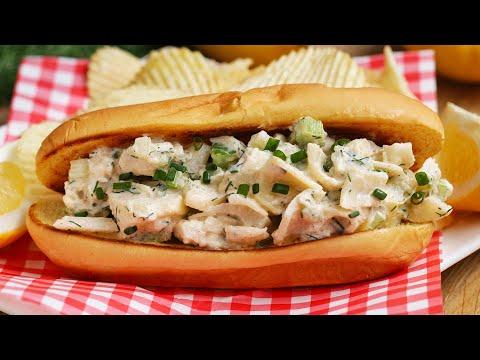 """Vegetarian """"Lobster"""" Roll"""