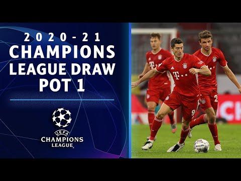 2020-21 Champions League Draw: Pot 1| UCL on CBS Sports