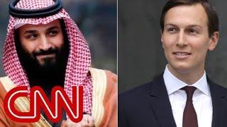 Report: Saudi prince said Kushner is 'in his pocket'
