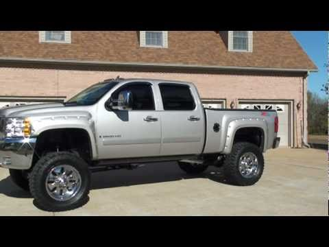 SOLD !! 2008 CHEVY SILVERADO 2500 DURAMAX LIFTED FOR SALE SEE WWW