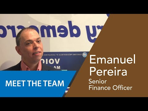 Emanuele Pereira - Responsable des Finances/Administration Senior
