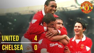 Manchester United 4-0 Chelsea | United Win the Double! | FA Cup Final 1994 #EmiratesFACup | Classics