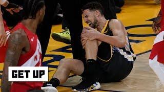 Klay Thompson's 'devastating' ACL injury won't impact his free agency – Woj   Get Up