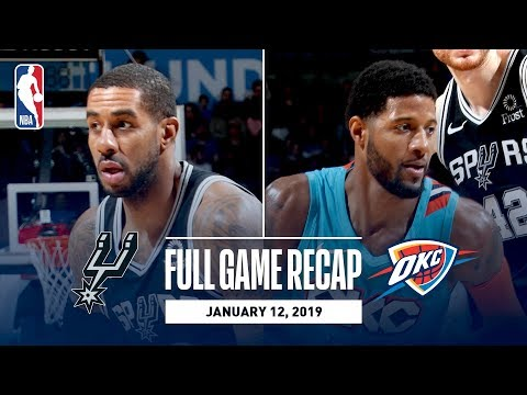 Full Game Recap: Spurs vs Thunder | Strong Second Half Propels OKC
