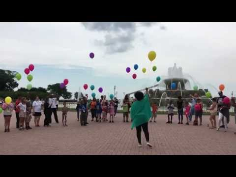 Hands Together, Heart to Art™ Balloon Launch 2016