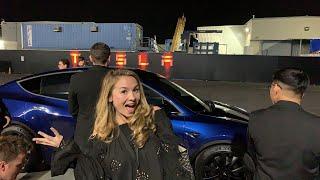 Inside Model Y (Test Ride)