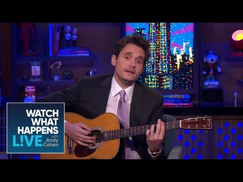 John Mayer Surprises Andy Cohen With A Diana Ross Cover   WWHL