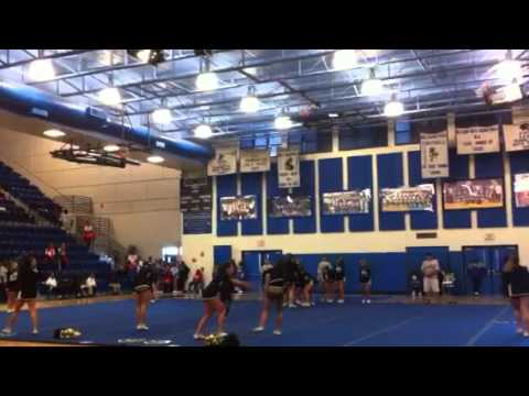 Western High School Cheerleading Regionals 2011
