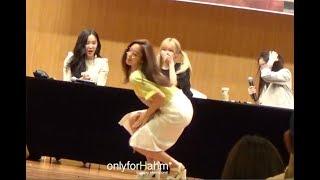 [Fancam]170630 Eunjung & T-ara's members dancing time at fansign