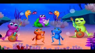 Nursery Rhymes & Songs Five Little Speckled Frogs Best Songs For Kids