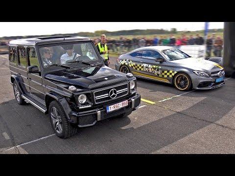 Mercedes-AMG C63 S Edition 1 vs G63 AMG vs CLA45 AMG vs M3
