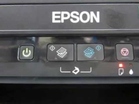 Epson L210 Waste Ink Pad Counter Full Youtube