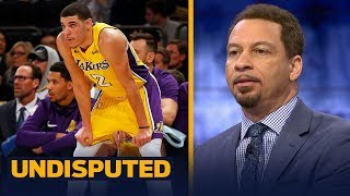 Chris Broussard on Lonzo and LaVar Ball after the Lakers loss in New York | UNDISPUTED