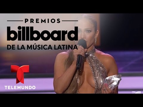 Jennifer Lopez se gana una estrella los Billboards 2017 | Billboards | Entretenimiento