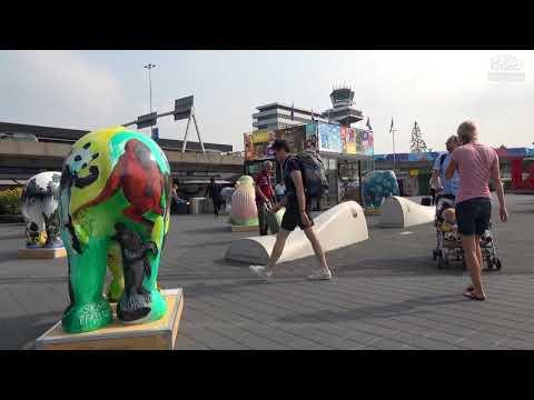 Elephant Parade Schiphol Airport