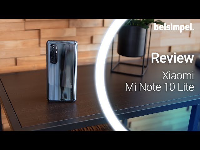 Belsimpel-productvideo voor de Xiaomi Mi Note 10 Lite 128GB Black
