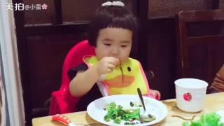 Clip Bé Ăn Ngoan Tiểu Man