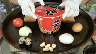How to cook Korean SHIN RAMYUN NOODLE without BOILED