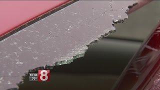 Extreme heat shattering car windows
