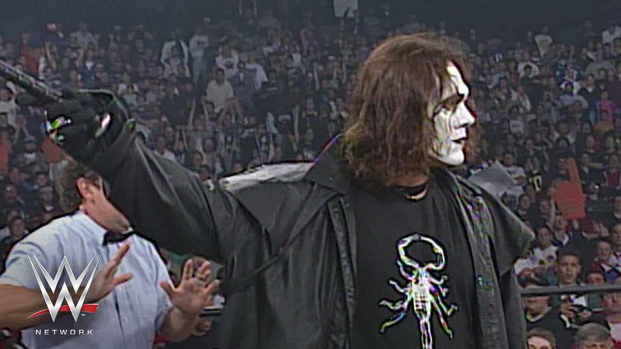 NWO Sting Recalls Using Prosthetics To Make Him Look Like The Real Sting