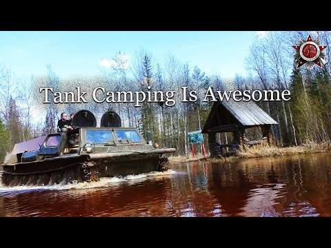 3 Day Off-Road Wilderness Camping In The Tank