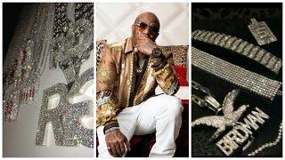 "Birdman shows off 50 Million dollars worth of jewelry ""A Million Dollars On 1 Arm"""