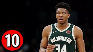 Giannis Antetokounmpo Top 10 Plays of Career