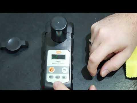 Ajustando o Colorímetro para Água - AK530