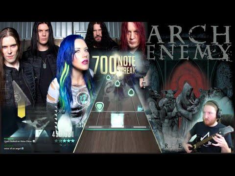 Arch Enemy - War Eternal (Guitar Hero: Live, Expert, Chart Preview)