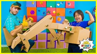 How to Make DIY Craw Machine from Cardboard!!!