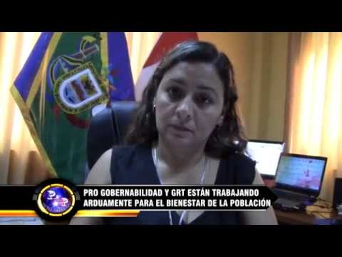 ProGobernabilidad y GRT trabajan por bienestar de población Tumbes [VIDEO]