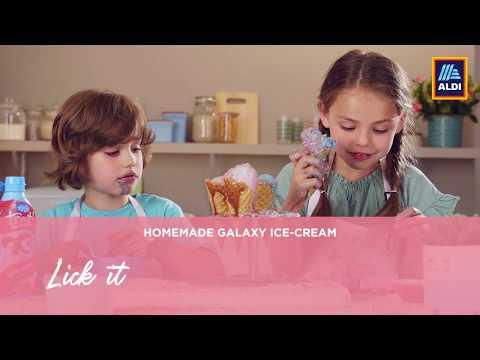 Introducing Junior Taste Kitchen - Galaxy Ice Cream!