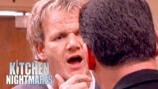 Gordon Ramsay Gets Into An Argument With A Delusional Owner | Kitchen Nightmares