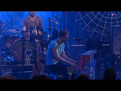 Coldplay - Paradise (Live on Letterman)