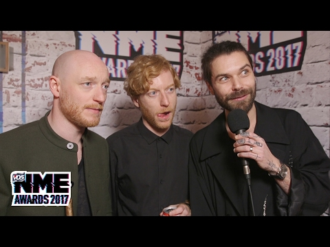 Biffy Clyro on winning Best British Band supported by Zig-Zag