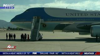 LIVE: President Trump arrives in Los Angeles, Workers' Presidential Summit