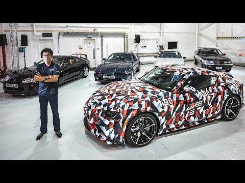 Tetsuya Tada talks Toyota Supra A90