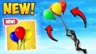 *NEW* BALLOON ITEM IS BROKEN! - Fortnite Funny Fails and WTF Moments! #370