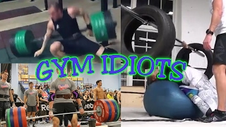Gym Idiots - CrossFit/GRID Fails & Stability Ball Stupidity