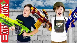 Generic Nerf Blaster Battle! Ethan and Cole Test Off Brand Blasters!