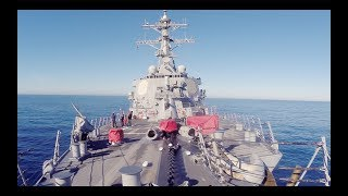 Five Days on a US Navy Destroyer