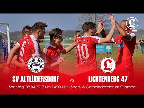 SV Altlüdersdorf - SV Lichtenberg 47 (NOFV-Oberliga Nord) - Spielszenen | SPREEKICK.TV