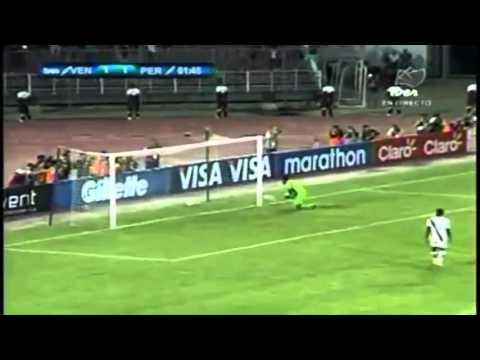 Venezuela 3 - 2 Perú [10/09/13] (Goles Venezuela)