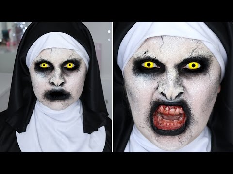 The Conjuring 2 Valak Nun ? SFX Halloween Makeup Tutorial