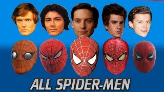 EVERY SPIDER-MAN ACTOR EVER (UPDATED) From the 70s to Tom Holland's Spider-Man Homecoming 2017
